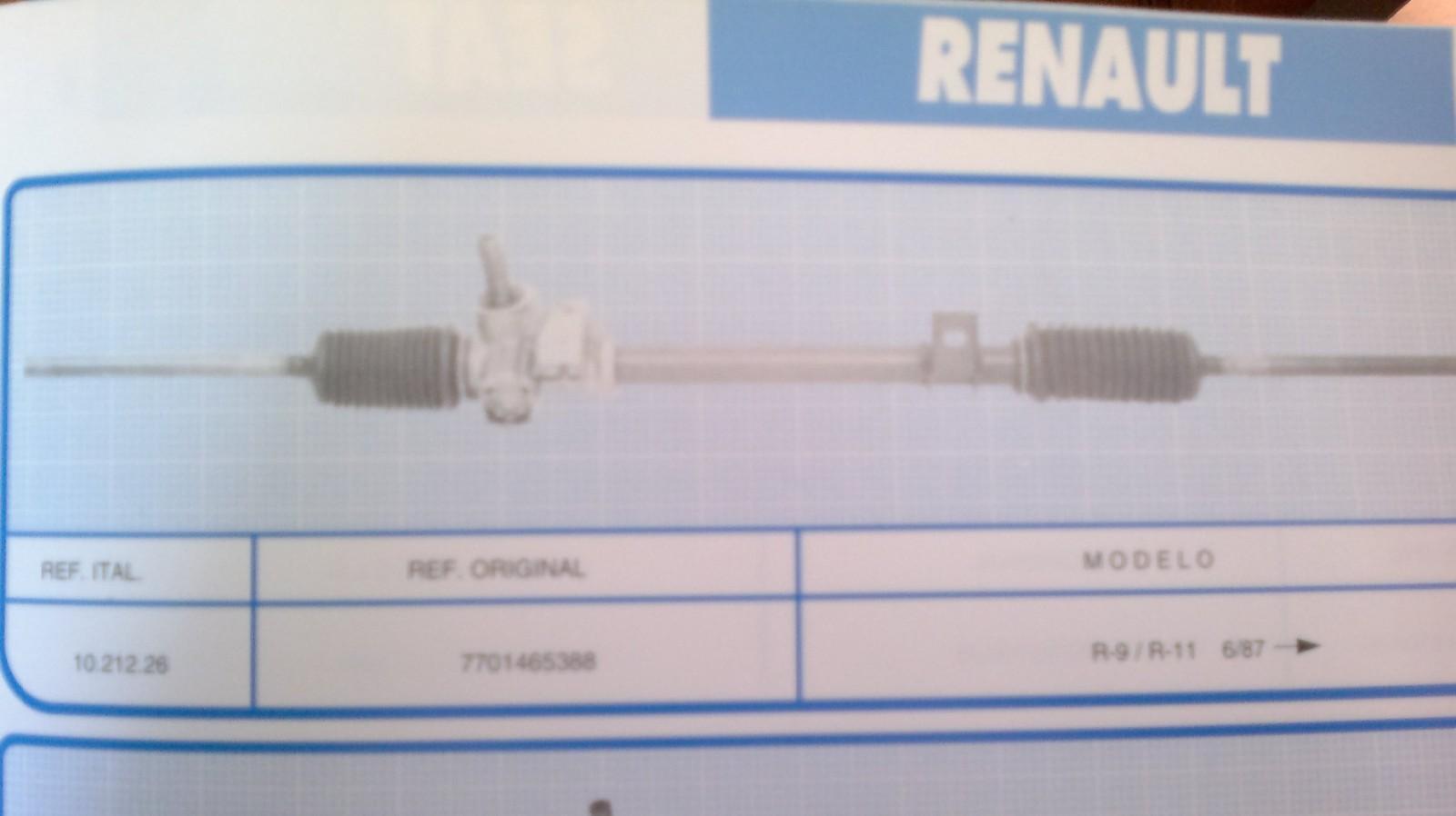 Dirección Renault 9 y 11 desde el 87