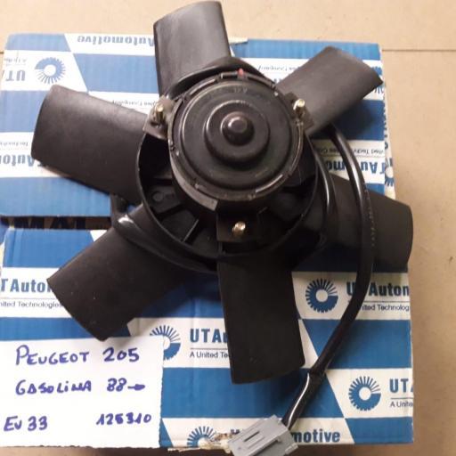 ELECTROVENTILADOR PEUGEOT 205 88 GASOLINA