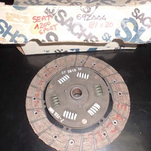 Disco de embrague de Seat 1200 Sport Bocanegra [0]