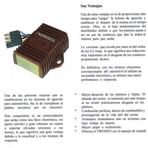 ENCENDIDO ELECTRÓNICO 12V