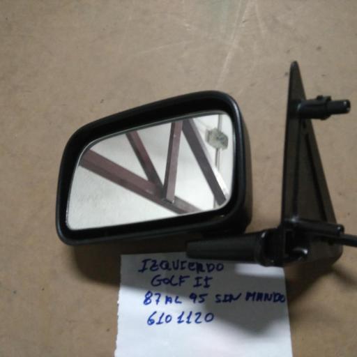 espejo izquierdo vw golf 2