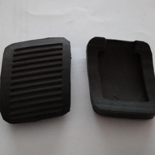 gomas Cubrepedales de freno y embrague  de Renault 4 antiguo [0]
