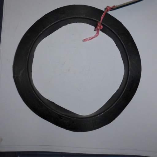 Goma inferior del muelle de la suspensión de Seat 600 [0]