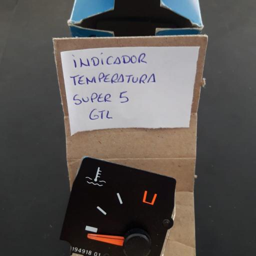 INDICADOR TEMPERATURA SUPER 5