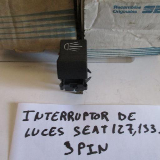 INTERRUPTOR  LUCES SEAT