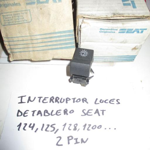 INTERRUPTOR LUZ TABLERO SEAT