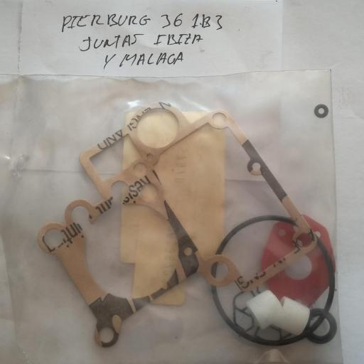 JUNTAS CARBURADOR PIERBURG 36IB3 SEAT IBIZA Y MALAGA