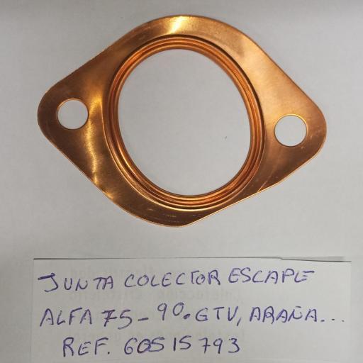 JUNTA COLECTOR ESCAPE ALFA 75