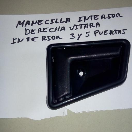 MANECILLA INTERIOR DERECHA SUZUKI VITARA