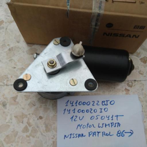 MOTOR LIMPIA PARABRISAS NISSAN PATROL 12V