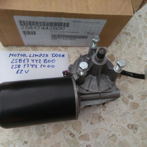MOTOR LIMPIA PARABRISAS DOGA 12 V
