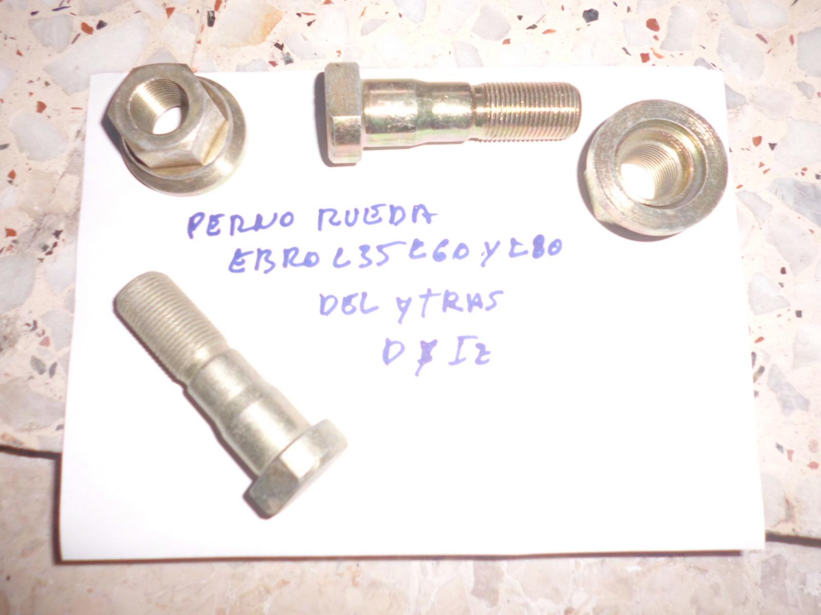 Perno de rueda de Ebro L35, L60 y L80