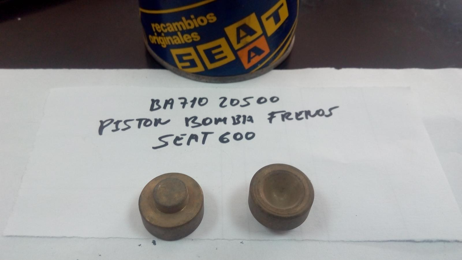 PISTÓN BOMBA DE FRENOS SEAT 600