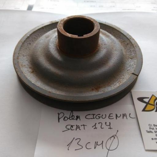POLEA CIGUEÑAL SEAT 124