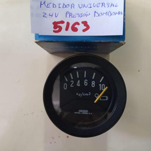 RELOJ MEDIDOR PRESION 24V UNIVERSAL