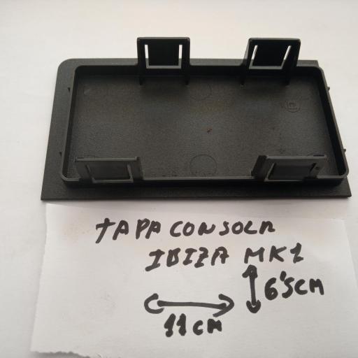 TAPA CONSOLA SEAT IBIZA MK1