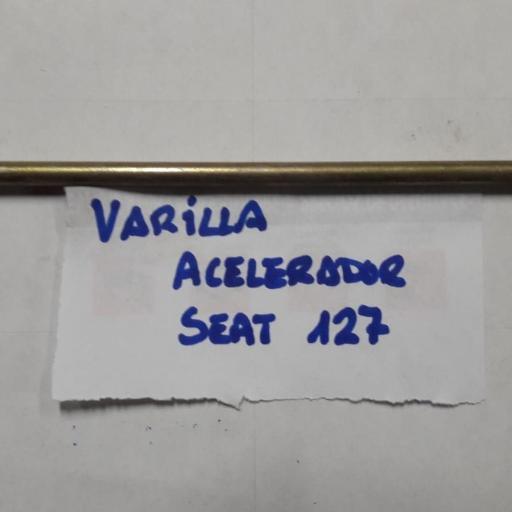 VARILLA ACELERADOR SEAT 127