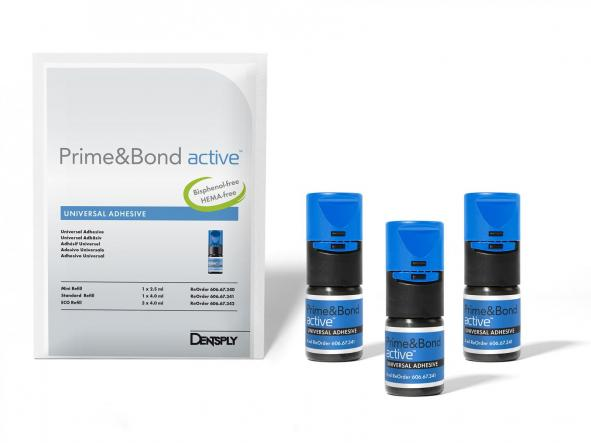 PRIME&BOND ACTIVE REPOS ECO 3X4ML DENTSPLY