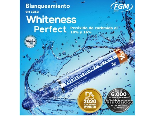 BLANQUEAMIENTO WHITENESS PERFECT KIT 5 JERINGAS FGM