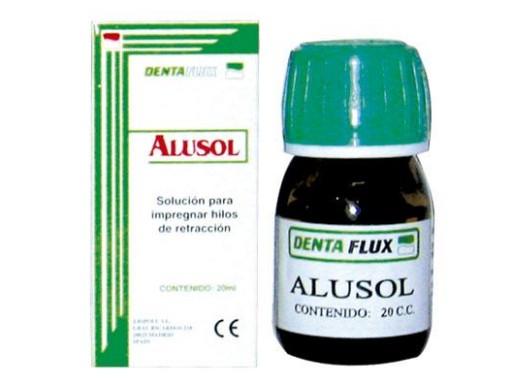 ALUSOL CLORURO ALUMINIO 20% 20ML DENTAFLUX