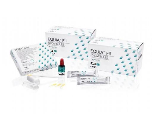 EQUIA FORTE PROMOPACK  A2+A3 100 UND + 4ML EQUIA FORTE COAT GC