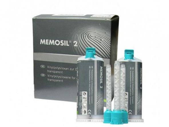 MEMOSIL 2 REGISTRO MORDIDA 2X50ML KULZER