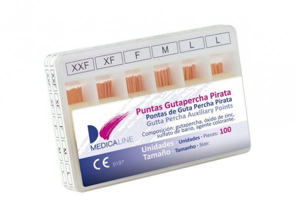 GUTAPERCHA PIRATA FINE MEDICALINE 100 UND