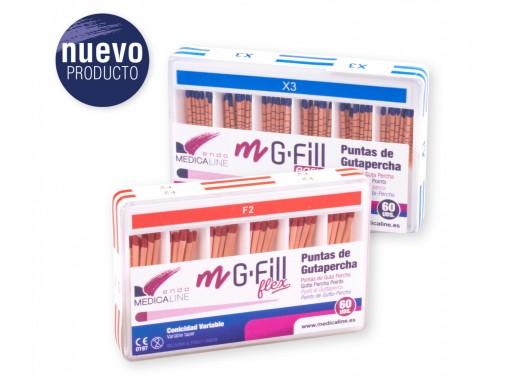 M-G-FILL FLEX GUTAPERCHA M-CONIC FLEX  60U.
