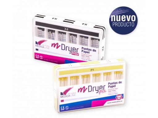 M-DRYER FLEX PUNTAS PAPEL M-CONIC FLEX 100U