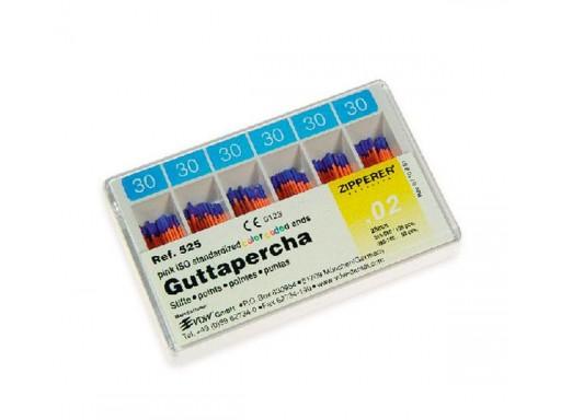 GUTTAPERCHA  ZIPPERER 120 UNID.