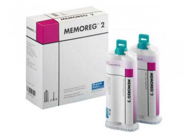 MEMOREG 2 REGISTRO MORDIDA 2x50ml. KULZER