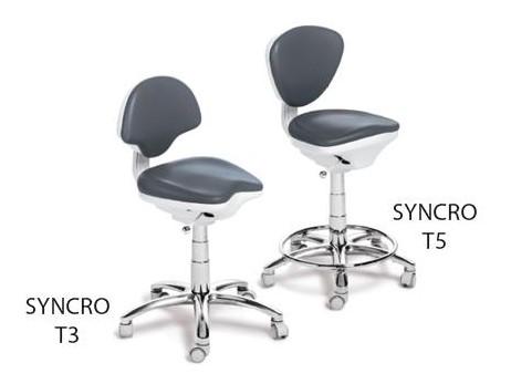 TABURETE SYNCRO T3 y SYNCRO T5 EURODENT