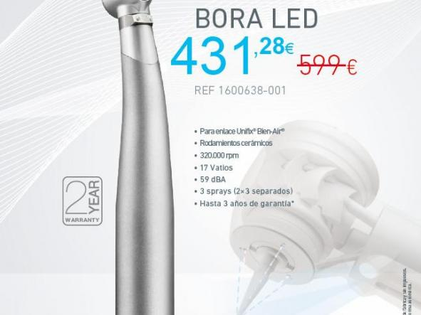 TURBINA BORA L LED METALINE