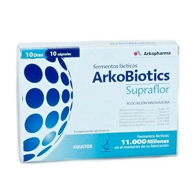 ArkoBiotics Supraflor 10 cápsulas