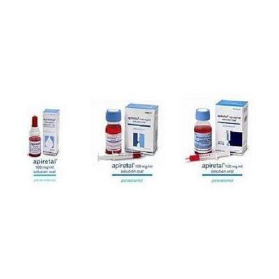 Apiretal 100 mg/mL solución oral