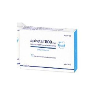 Apiretal 500 mg 12 comprimidos bucodispersables