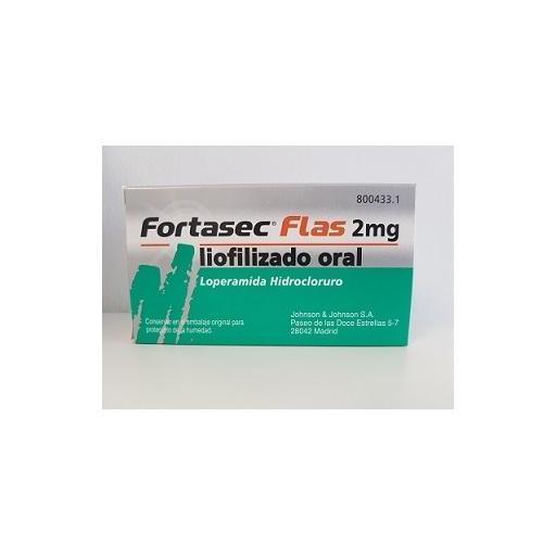 Fortasec Flas 2 mg liofilizado oral 12 unidades