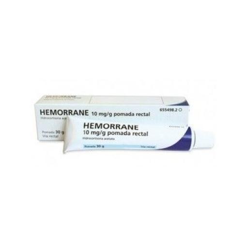 Hemorrane 10 mg/g pomada rectal [0]