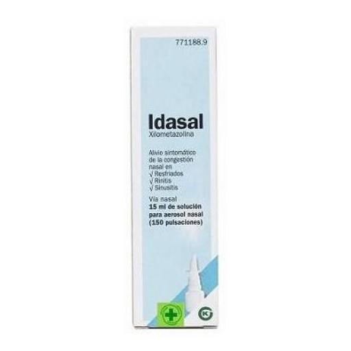 Idasal 15 mL solución para aerosol nasal