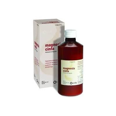 Magnesia Cinfa suspensión oral 260 mL