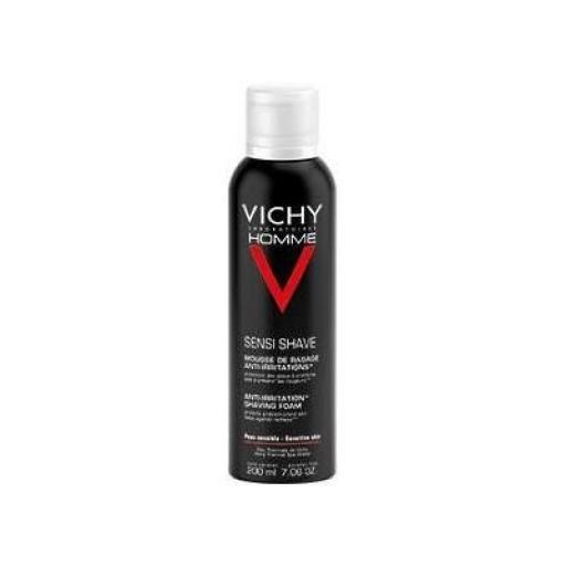Espuma de afeitado sin jabón triple acción Vichy 200 mL