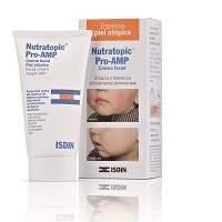 Crema facial especial piel atópica Nutratopic Pro-AMP Isdin 50 mL