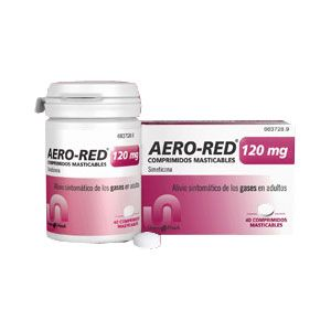 Aero Red 120 mg comprimidos masticables