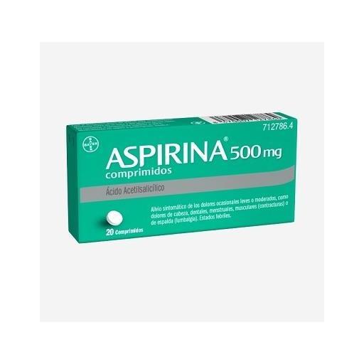 Aspirina 500 mg 20 comprimidos [0]