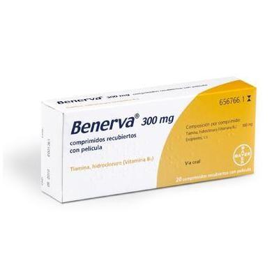 Benerva 300 mg 20 comprimidos
