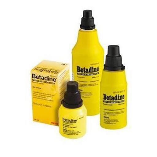 Betadine solución dérmica [0]