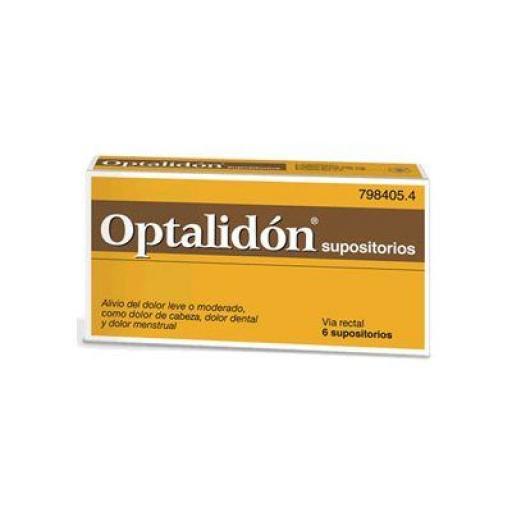 Optalidon 6 supositorios [0]