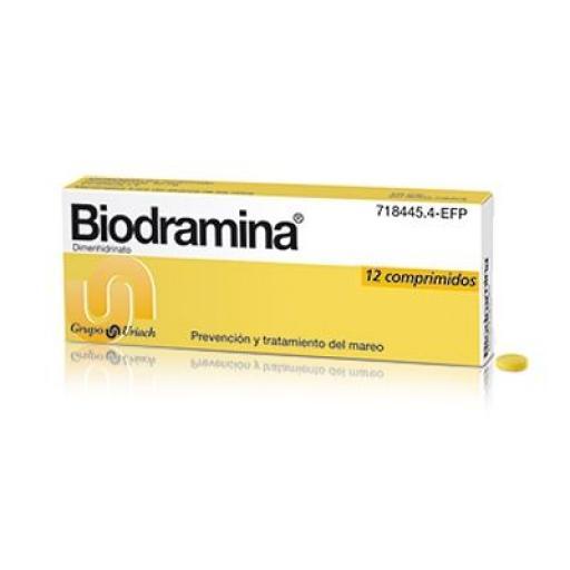 Biodramina 50 mg comprimidos [0]