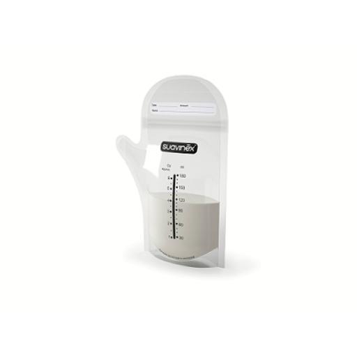 Bolsas de almacenaje de leche Suavinex 25 unidades