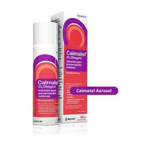 Calmatel aerosol 50 g